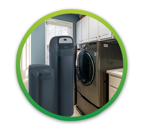 ESD2752 Water Refiner in Laundry Room