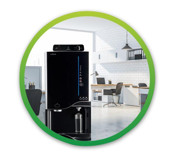 WS12000 Bottleless Water Cooler in office